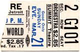 Ticket stub for Circus World - Summit Cinerama