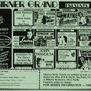 Warner Grand Show Program Circa 1984
