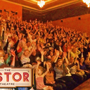 """A packed """"Sing-A-Long Grease"""" screening in 2014"""