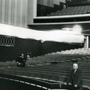 Auditorium (actors' left) from the stage.