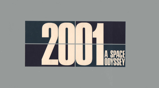 2001: A SPACE ODYSSEY BOOKLET