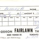 FAIRLAWN RESERVED SEAT TICKET ENVELOPE