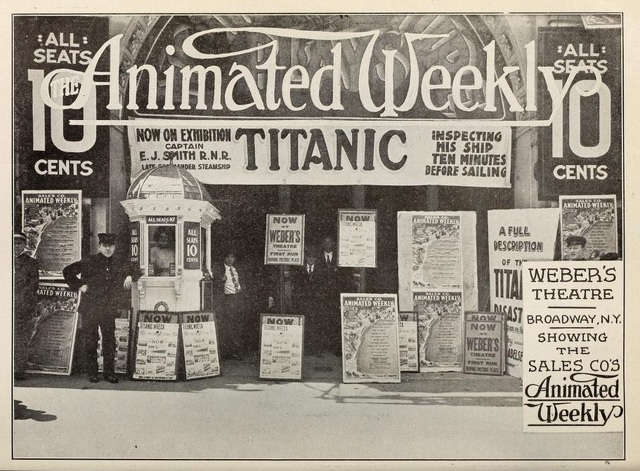 Photo credit The Moving Picture News May 4th, 1912.