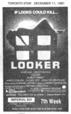 TORONTO STAR AD FOR LOOKER - IMPERIAL