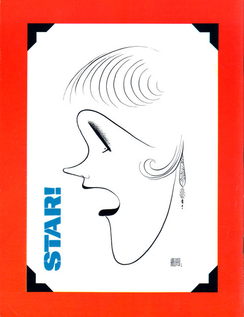BACK PAGE OF STAR SOUVENIR PROGRAM - UNIVERSITY  THEATRE