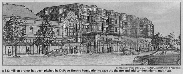 DU PAGE Theatre possibility rendering (2005)