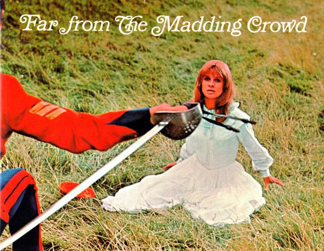 "Souvenir booklet ""FAR FROM THE MADDING CROWD"" - Summit Cinerama"