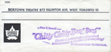 """RESERVED SEAT TICKET ENVELOPE FOR """"CHITTY CHITTY BANG BANG"""" - NORTOWN THEATRE"""