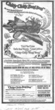 "TORONTO STAR RESERVED SEAT AD FOR ""CHITTY CHITTY BANG BANG"" - NORTOWN THEATRE"