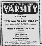 """The Daily Northwestern"" of Evanston, Illinois. January 8, 1929."