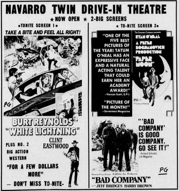 Navarro Twin Drive-In