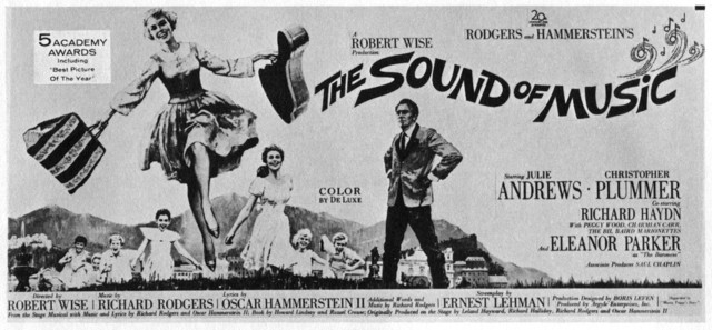 "POSTER FOR ""THE SOUND OF MUSIC"""