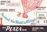 Ticket for the Plaza Theatre
