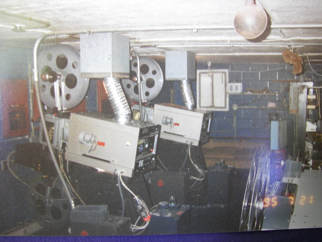 Miles Drive In Projection booth ( Armester Williams )