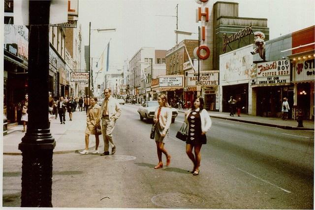 1971 photo courtesy of Rick McCauley.