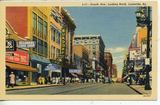 Late `40's postcard. Rialto marquee in distance.