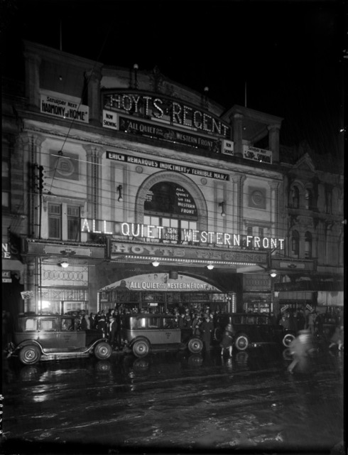All Quiet on the Western Front at Hoyts Regent which became the Metro