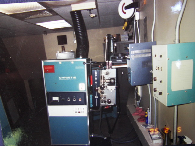 Garfield Mall Movies Projection booth ( Armester Williams )