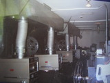 Mercury Twin CinemaProjection booth ( Armester Williams )
