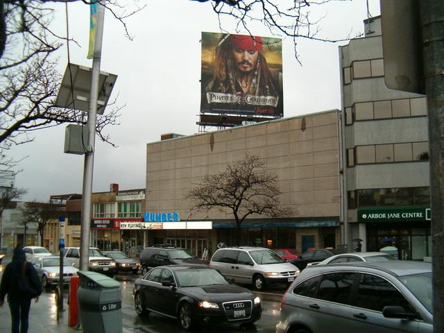 Humber Cinema Exterior