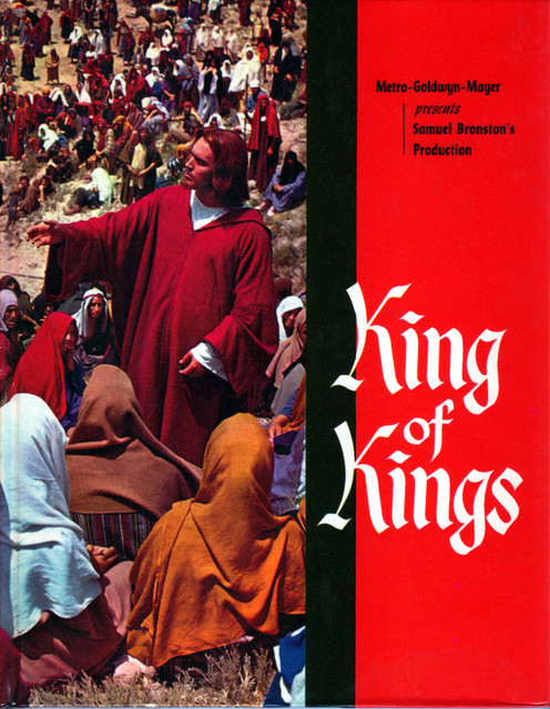 """SOUVENIR BOOKLET """"KING OF KINGS"""" UNITED ARTISTS THEATRE"""