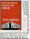 "AD FOR ""SOUTH PACIFIC"" UNITED ARTISTS THEATRE COMING Apr 9th, 1958"