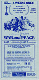 "RESERVED SEAT ORDER FORM ""WAR AND PEACE"" - CAPRI THEATRE"