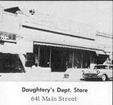 as Daughtreys Department Store