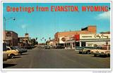 `60's post card. Out of focus, but it's there...