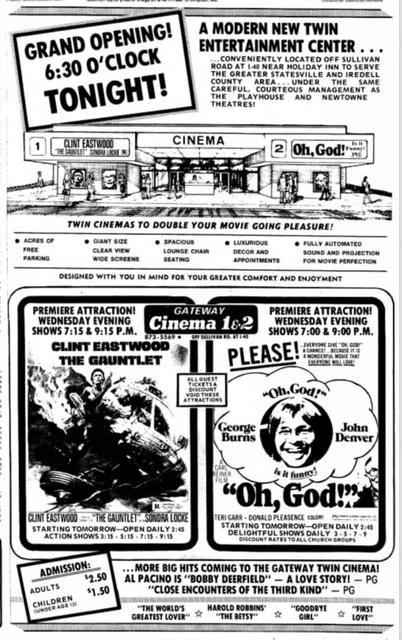 carmike gateway 4 cinemas in statesville nc cinema