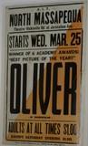 "North Massapequa ""OLIVER!"" Pole-Poster"