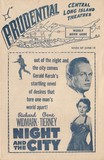 1950 Prudential L.I. Theaters Schedule