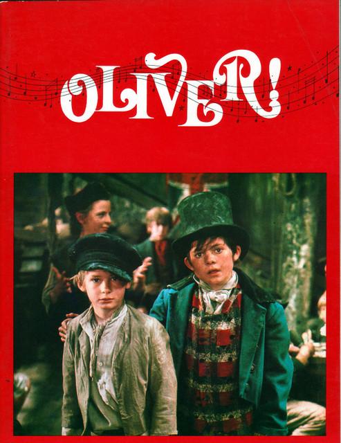 """SOUVENIR PROGRAM FOR """"OLIVER"""" - ODEON CARLTON THEATRE"""