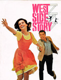 "RESERVED SEAT SOUVENIR PROGRAM ""WEST SIDE STORY"""