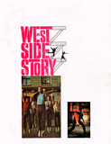 "RESERVED SEAT SOUVENIR PROGRAM BACK PAGE ""WEST SIDE STORY"""