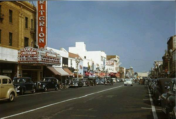 1946 photo courtesy of the Classic Hollywood/Los Angeles/SFV Facebook page.