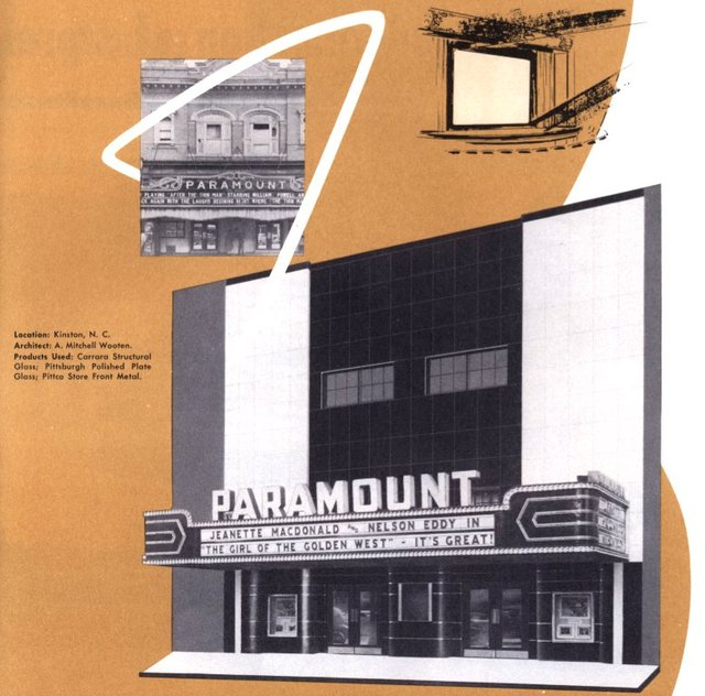 Paramount Theatre Before and After