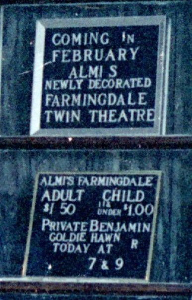Box Office Sign Close-Up