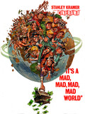 "SOUVENIR PROGRAM ""IT'S A MAD MAD MAD MAD WORLD"" MUSIC HALL CINERAMA"