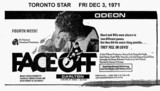 "TORONTO STAR AD ""FACE OFF"" - CARLTON THEATRE"