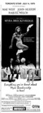 "TORONTO STAR AD ""MYRA BRECKINRIDGE"" - UNIVERSITY THEATRE"