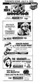 TORONTO STAR UPTOWN 5 MOVIE ADS - JULY 4, 1970