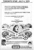 "TORONTO STAR AD ""DARLING LILI"" - EGLINTON THEATRE"