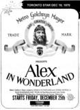 """TORONTO STAR AD FOR """"ALEX IN WONDERLAND"""" - TOWNE CINEMA"""