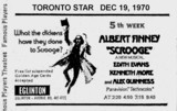 <p>THIS AD APPEARED IN THE TORONTO STAR SATURDAY DECEMBER 19, 1970</p>