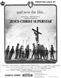 "TORONTO STAR AD FOR ""JESUS CHRIST SUPERSTAR"" - UNIVERSITY THEATRE"