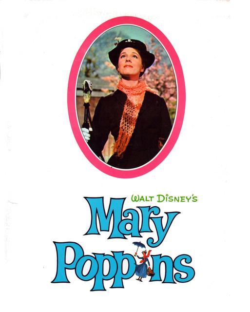 "SOUVENIR PROGRAM FOR ""MARY POPPINS"""
