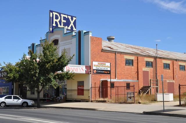Former Rex Theatre Corowa NSW