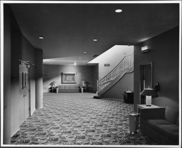 Humber Interior Lower Lobby 1949