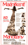 """TORONTO STAR AD FOR """"MAHOGONY"""" - HOLLYWOOD AND OTHER THEATRES"""